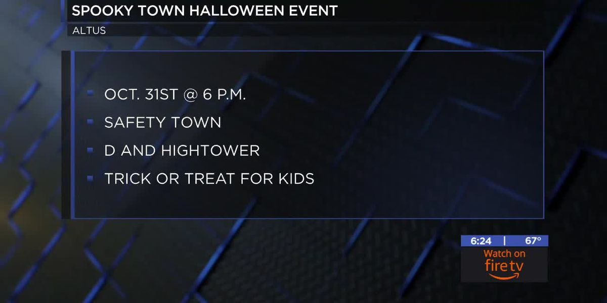 Altus Police Department holding safe trick-or-treat event for kids this Halloween