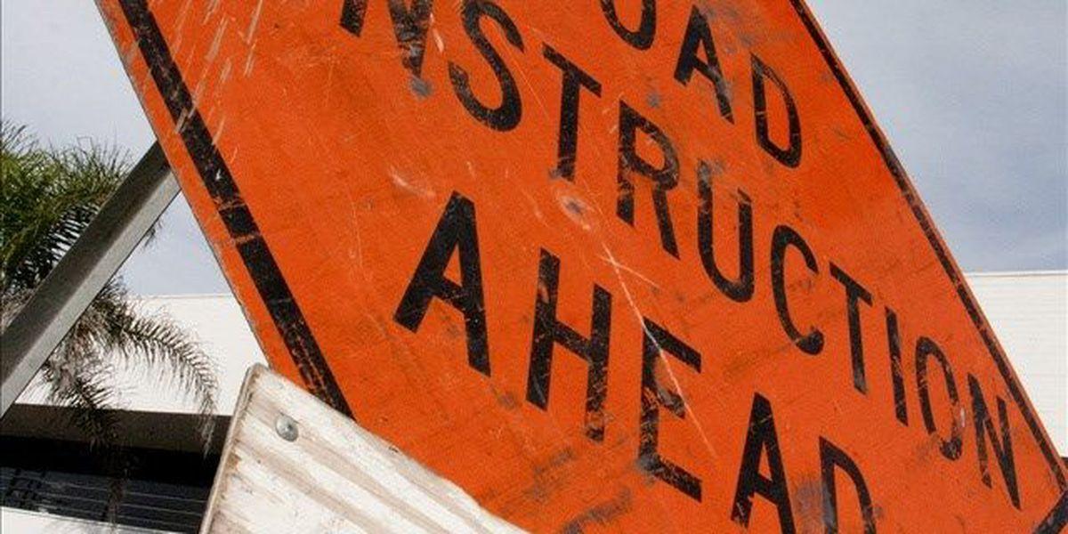 Lane closures scheduled near Altus