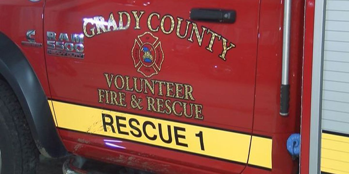 Grady County home explosion sends two to hospital