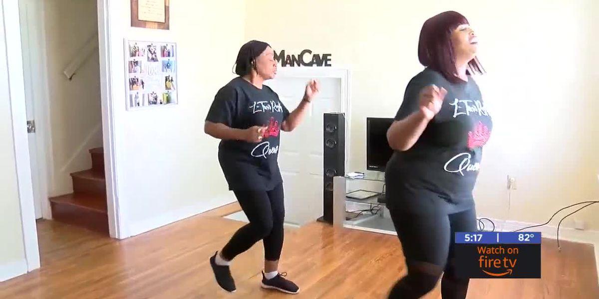Lawton woman uses Facebook to teach line dances virtually