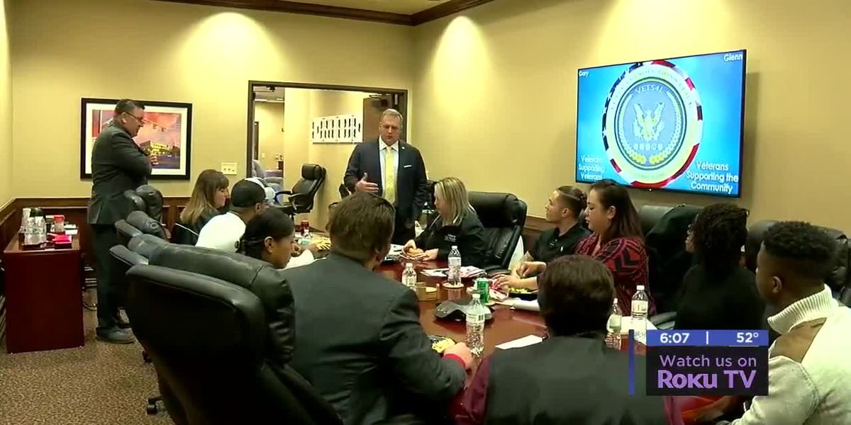 Lawton Fort Sill Chamber of Commerce holds lunch and learn for veterans