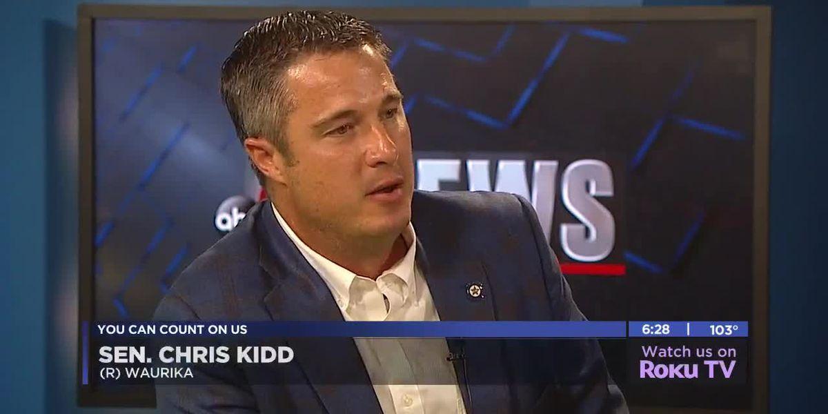 In studio: Senator Chris Kidd