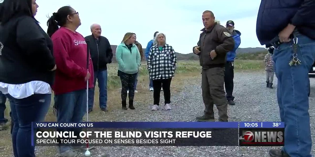 Lawton Council of the Blind takes special tour of the Wildlife Refuge
