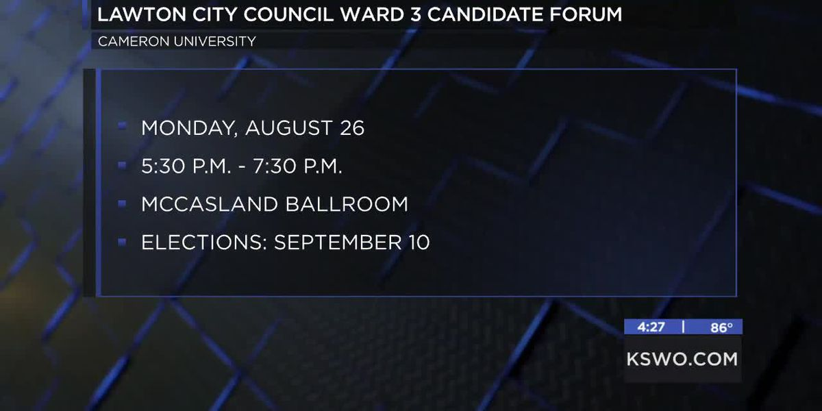 Lawton Young Professionals hosting candidate forum