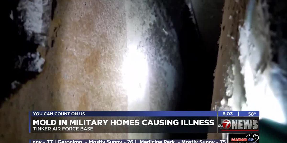 Residents say military housing has mold