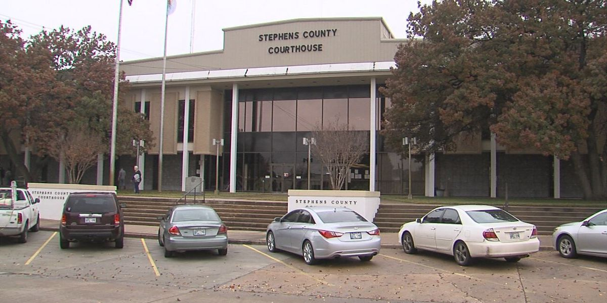 Parking lot changes coming to Stephens County Courthouse