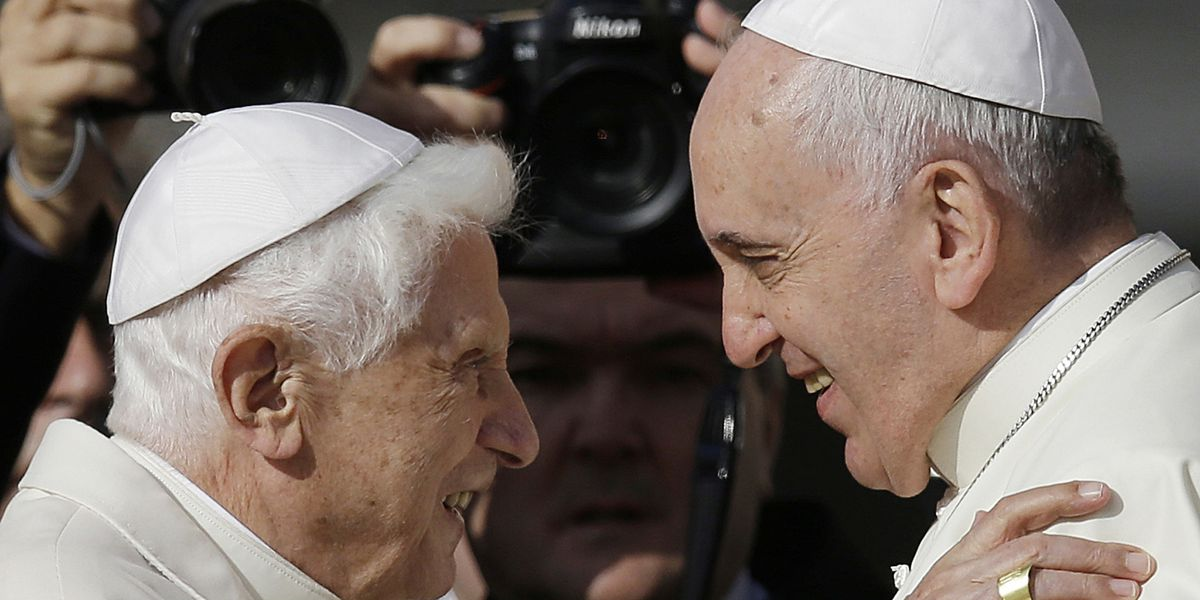 Pope Benedict XVI defends resignation to 'fanatic' doubters