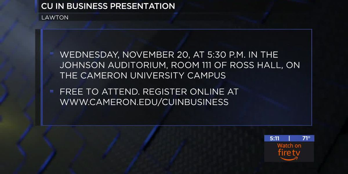 'CU in Business' informational workshop will focus on degree programs