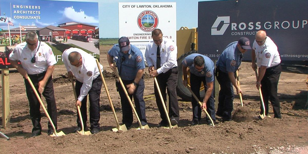 City breaks ground on new fire station