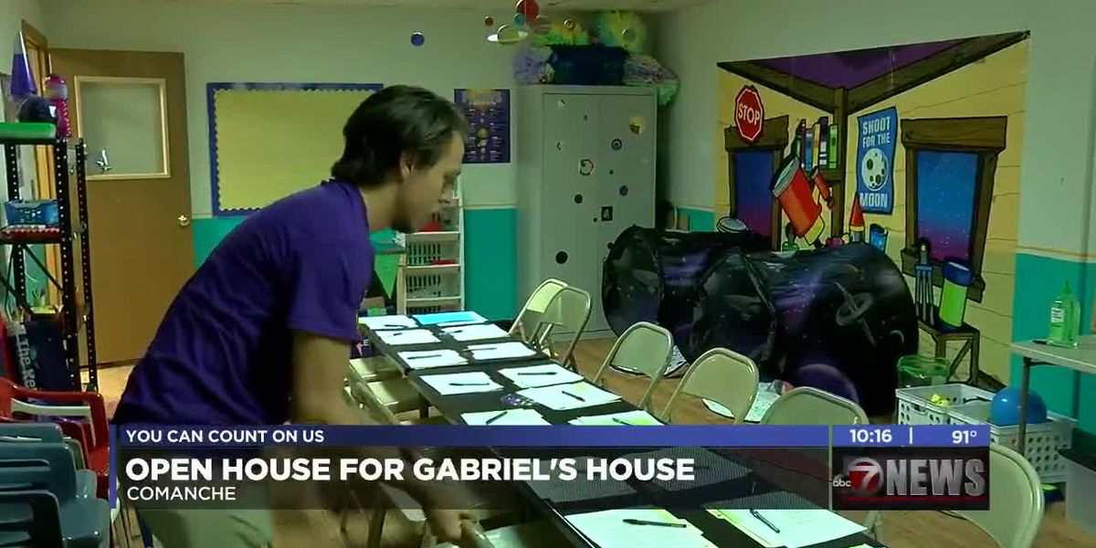 Gabriel's House unveils new facility in Comanche