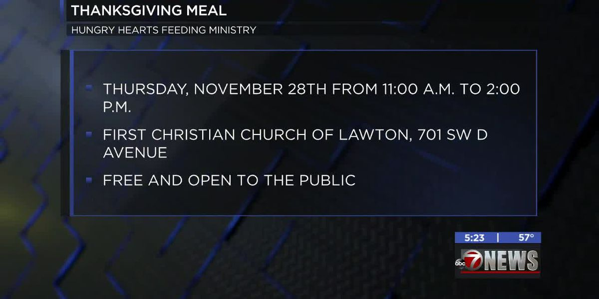 Hungry Hearts Feeding Ministry holding annual Thanksgiving meal