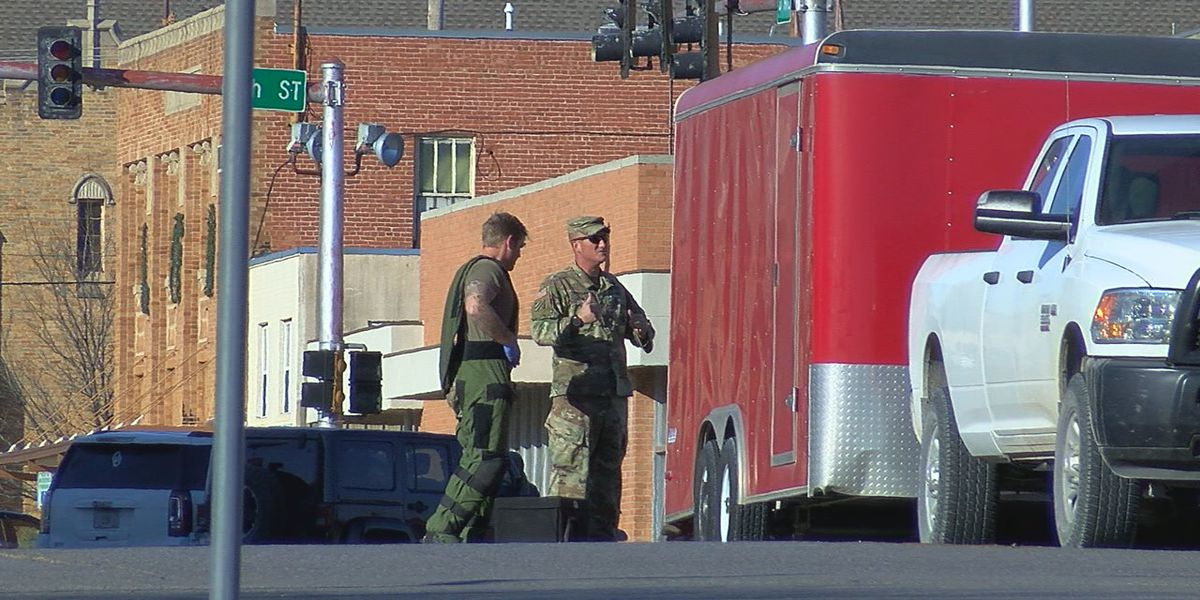 UPDATE: Officials say 'suspicious package' fell off truck, was moved out of road