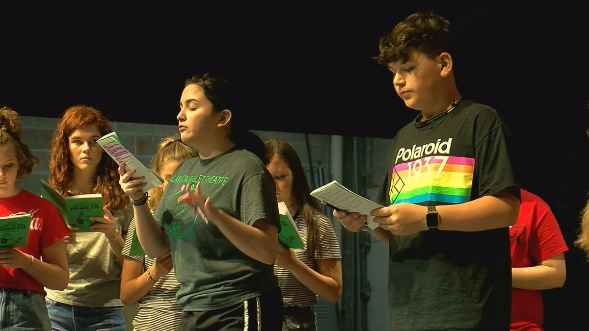 Teen Theatre workshop underway in Duncan