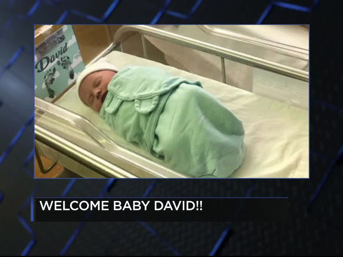 Welcome baby David!