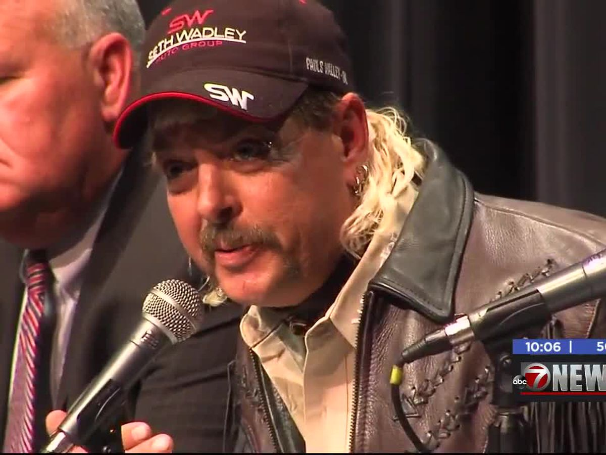 Sentencing date set for Joe Exotic
