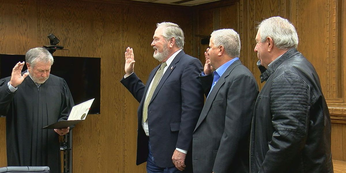 3 Comanche County officials sworn in