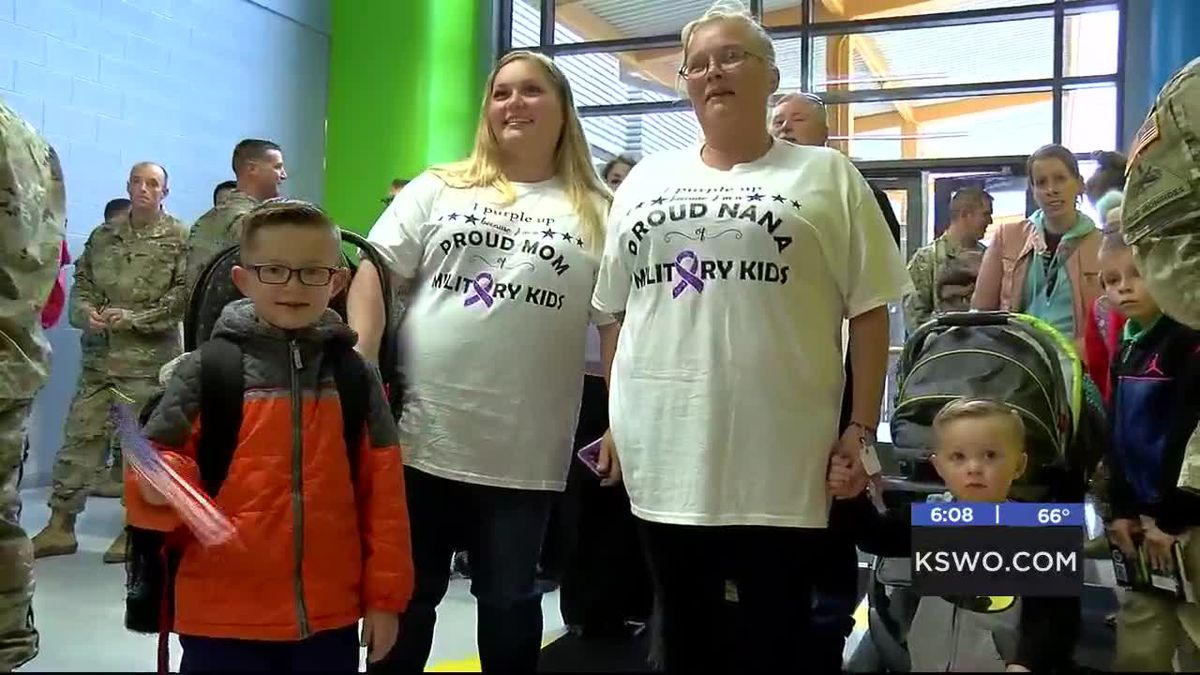 Freedom Elementary celebrates Month of the Military Child