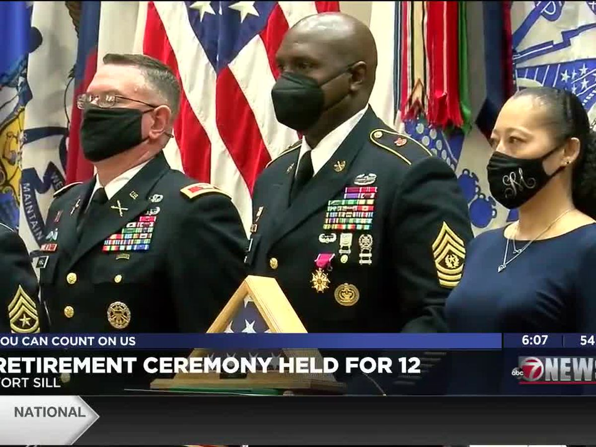 Ft. Sill holds retirement ceremony