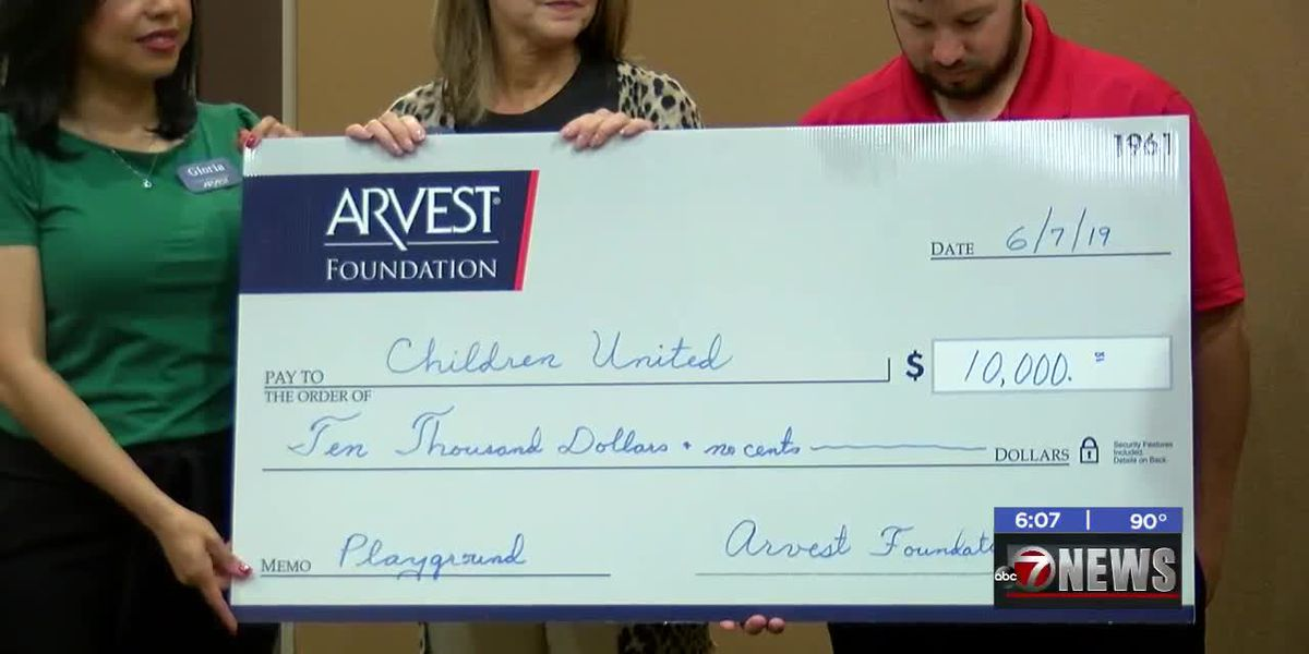 Children United receives money for new Lawton playground