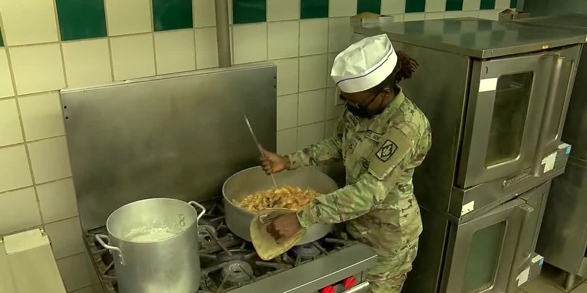 A Day in the Life: Guns & Rockets Dining Facility