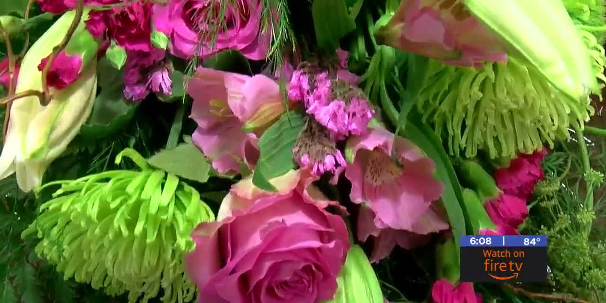 Local flower shops prepares for busy week