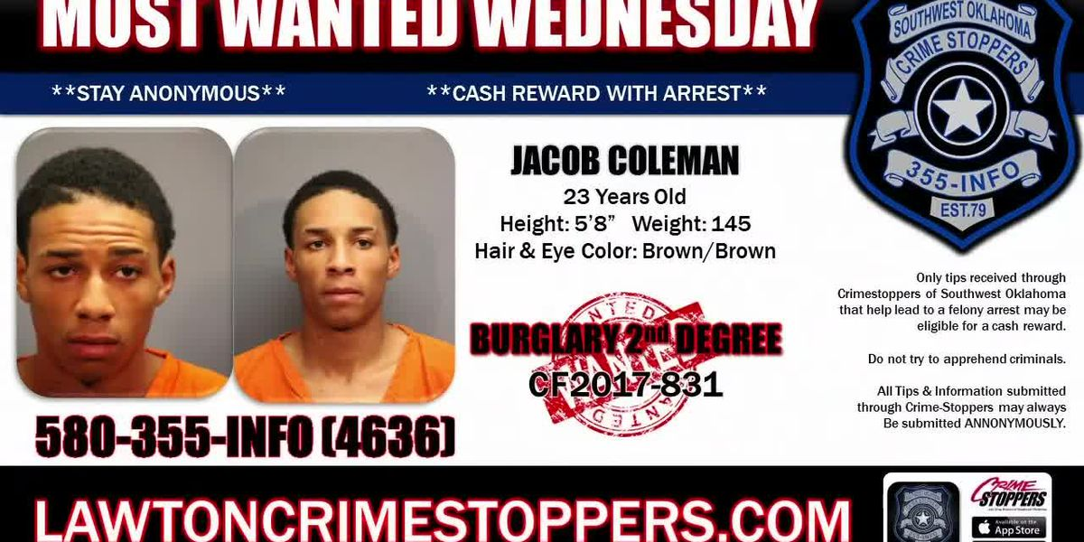 Most Wanted Wednesday: August 21
