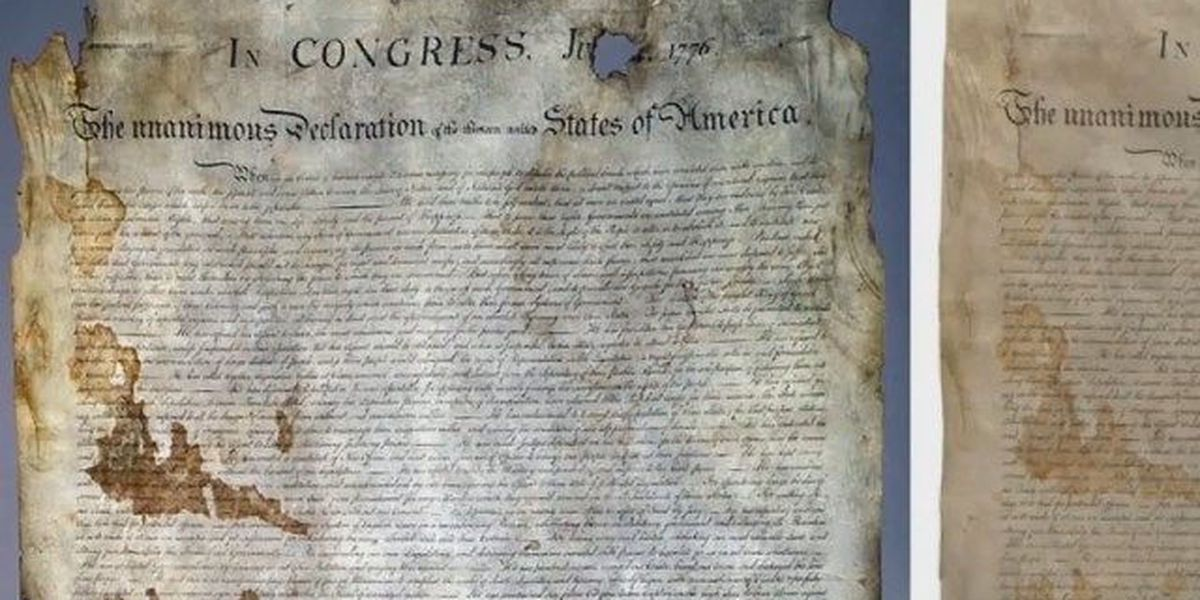 Houston man sells rare copy of the Declaration of Independence