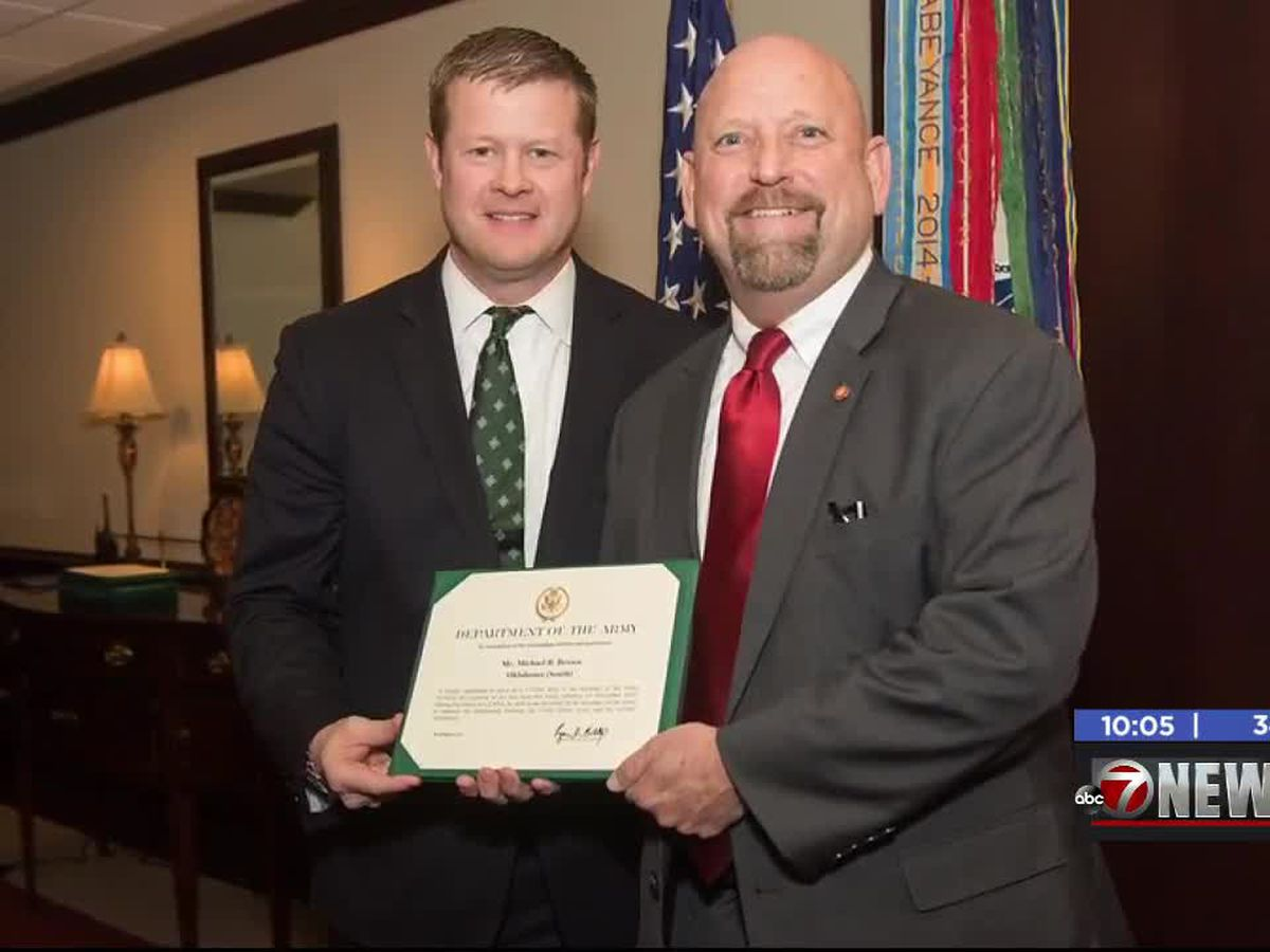 Lawton man chosen to serve as Civilian Aide to the Secretary of the Army