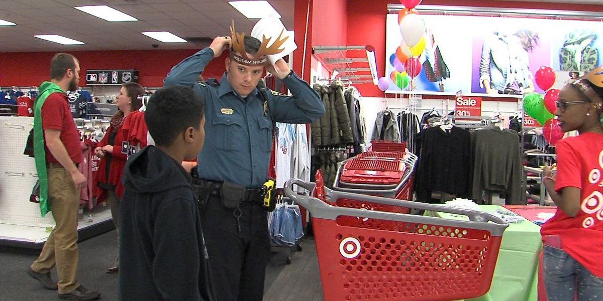Children get a chance to Shop with a Cop
