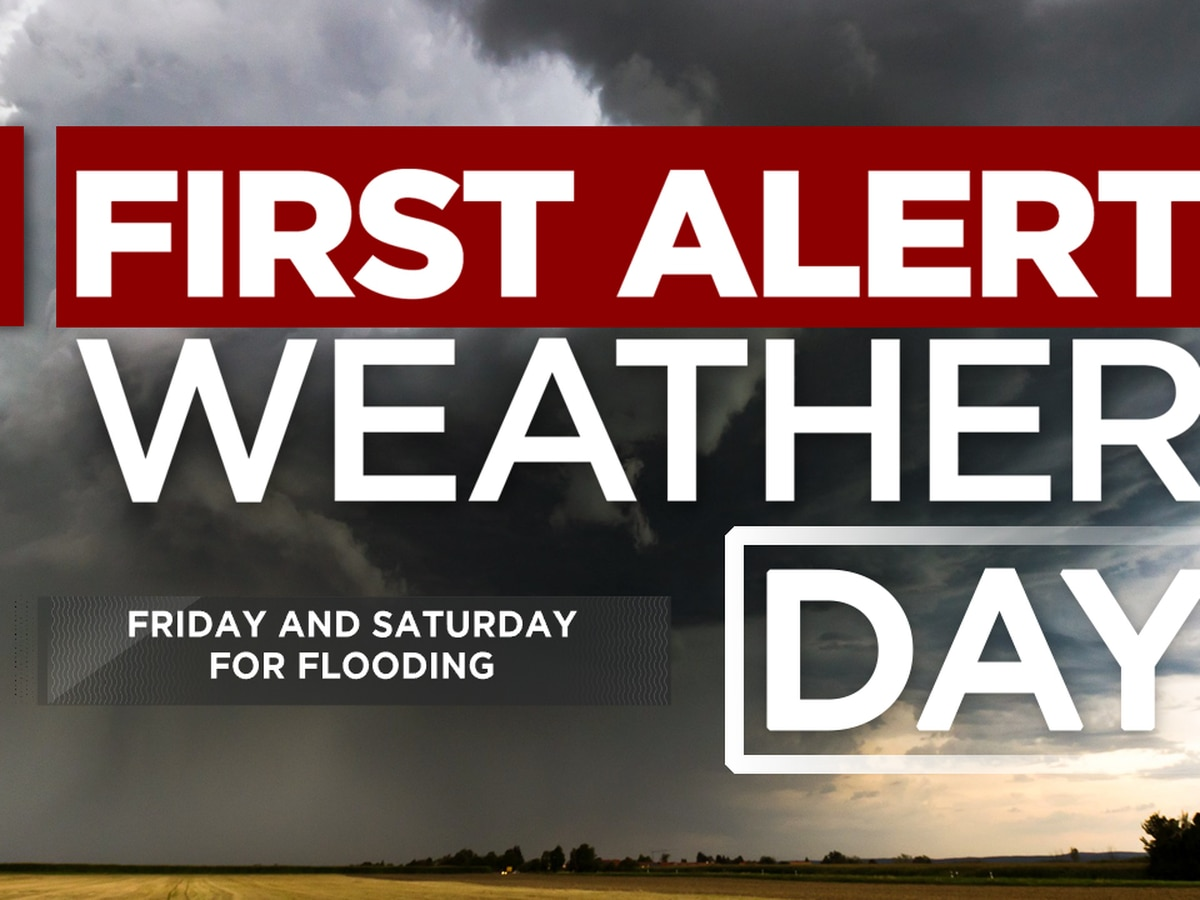 First Alert Forecast: rain arrives Friday