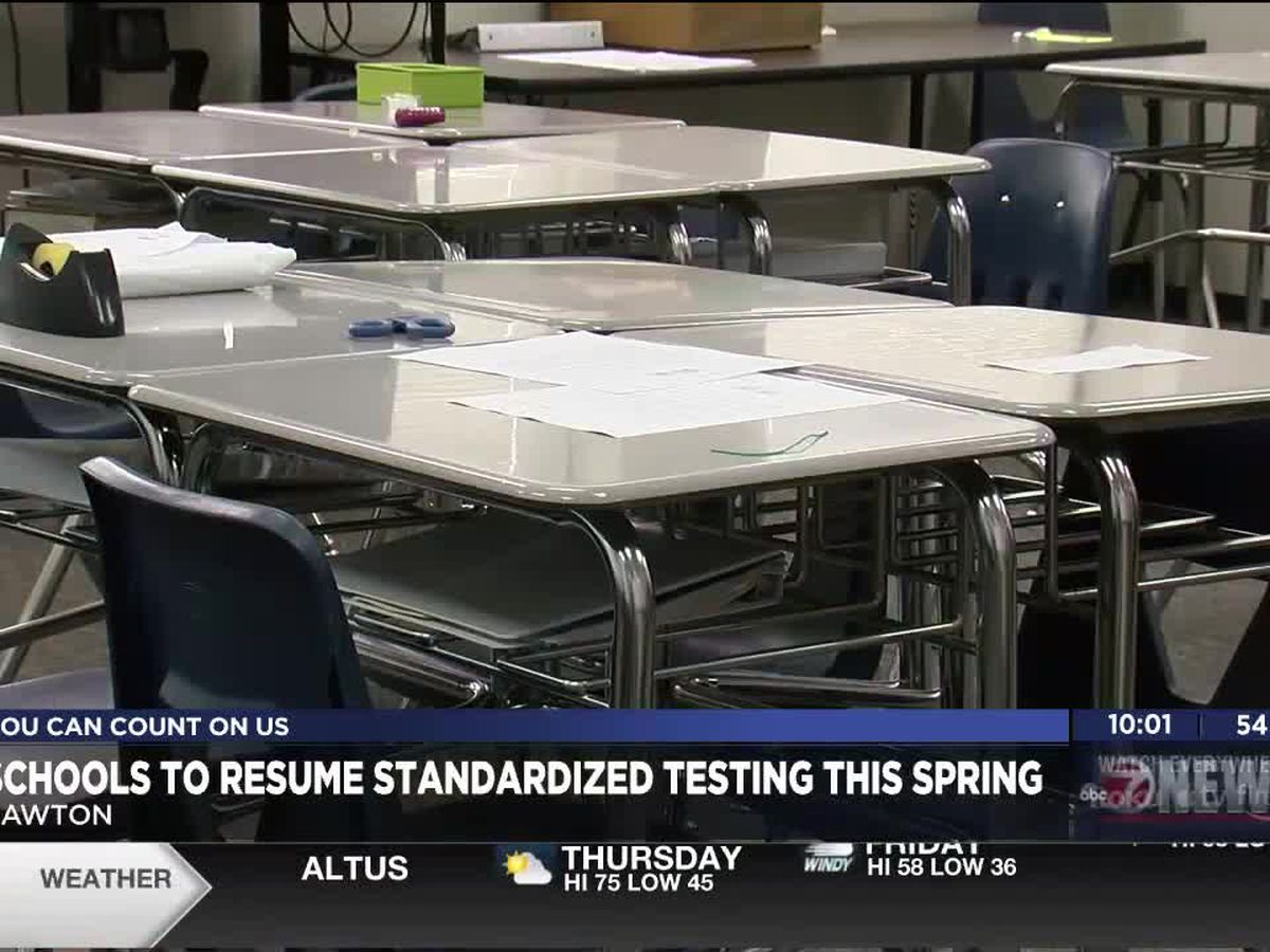 Standardized testing to resume in Oklahoma schools