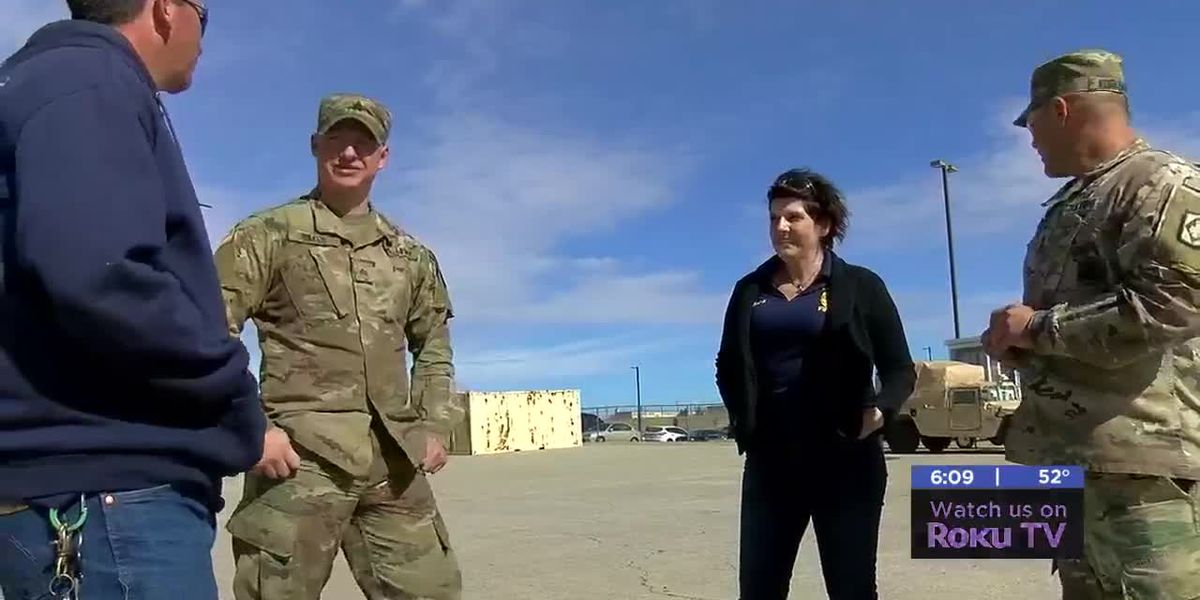 Fort Sill Soldier talks after helping injured hiker
