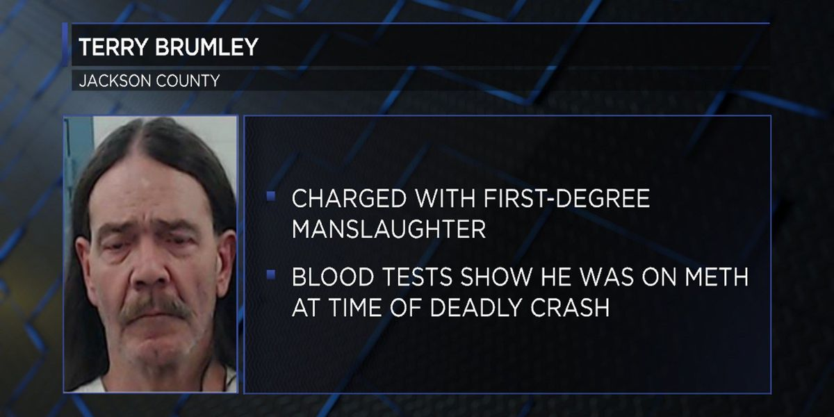 Hollis man arrested, charged after deadly Jackson County accident