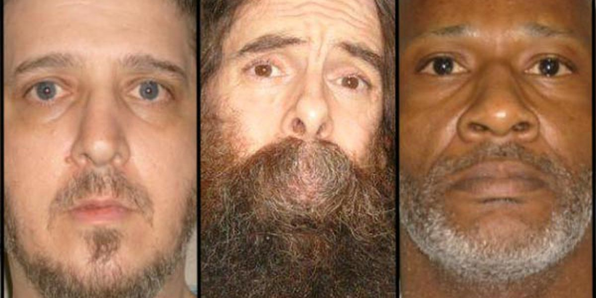 Stay of execution sought for 3 death row inmates