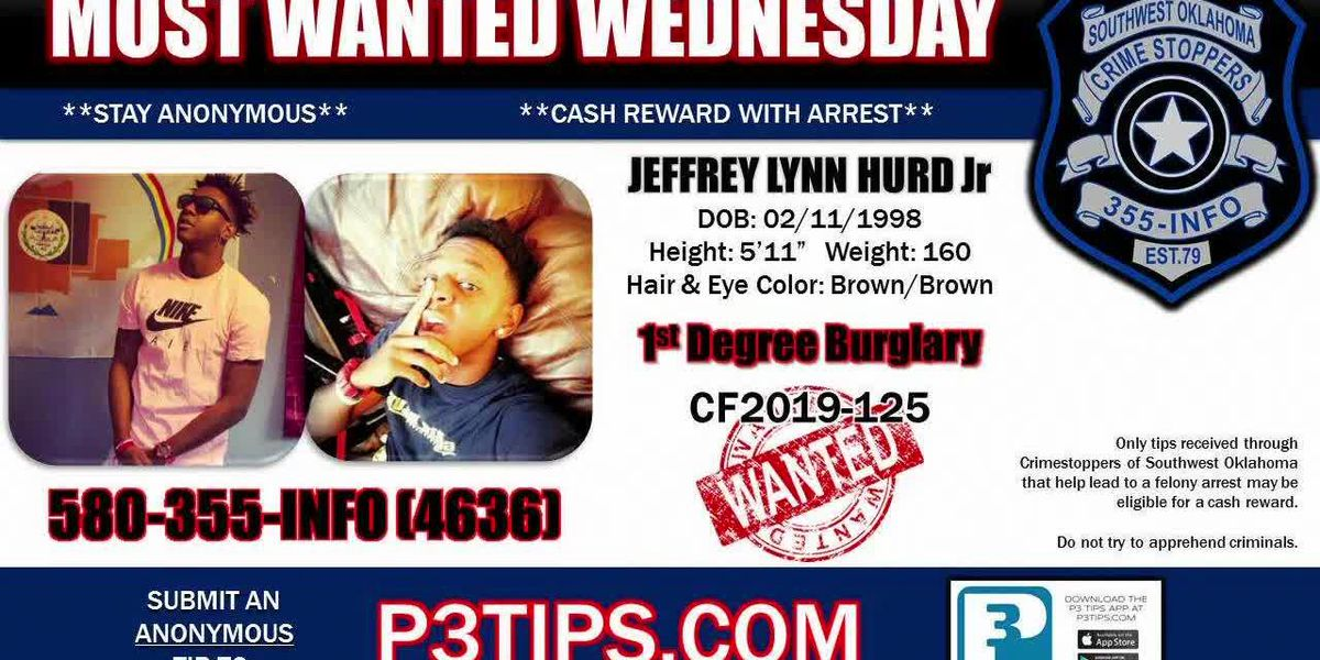Most Wanted Wednesday: May 8