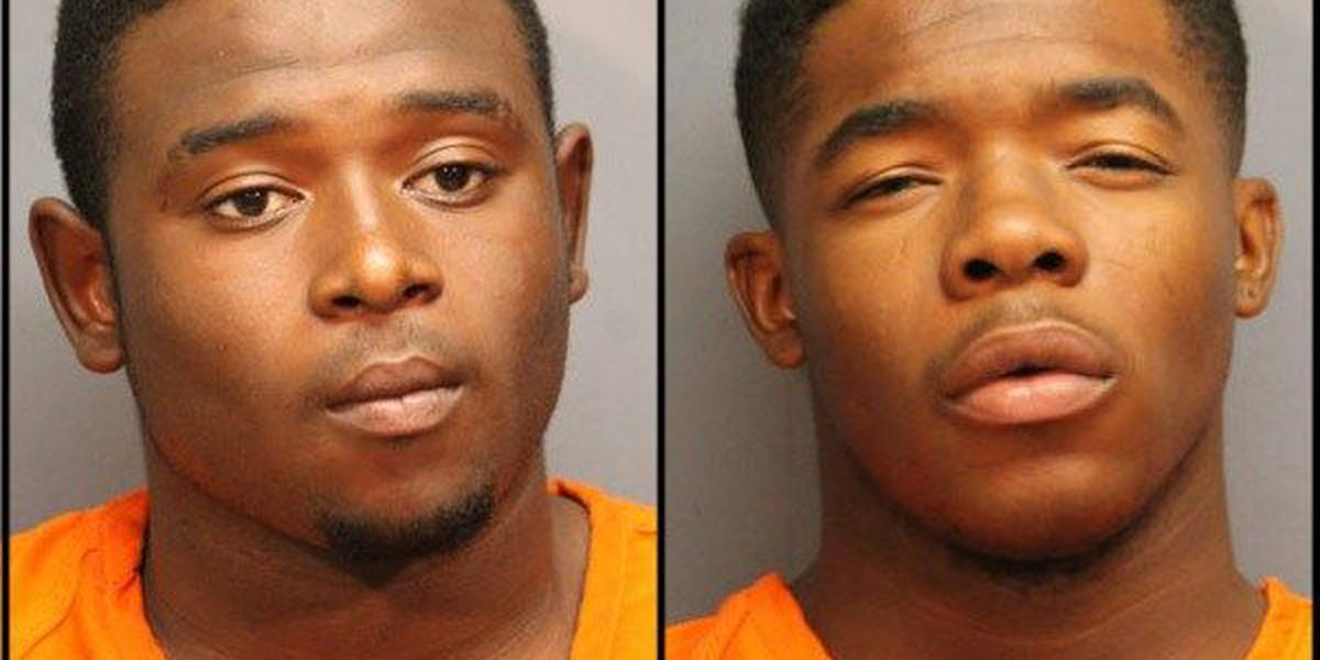 3 charged in 2 armed robberies