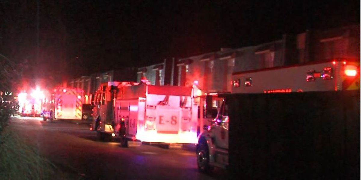 Two units damaged in Lawton apartment fire