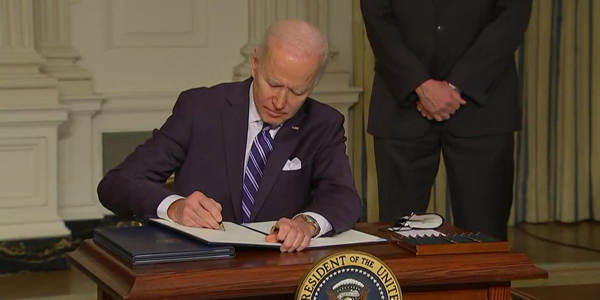 Biden signs executive order to address climate crisis