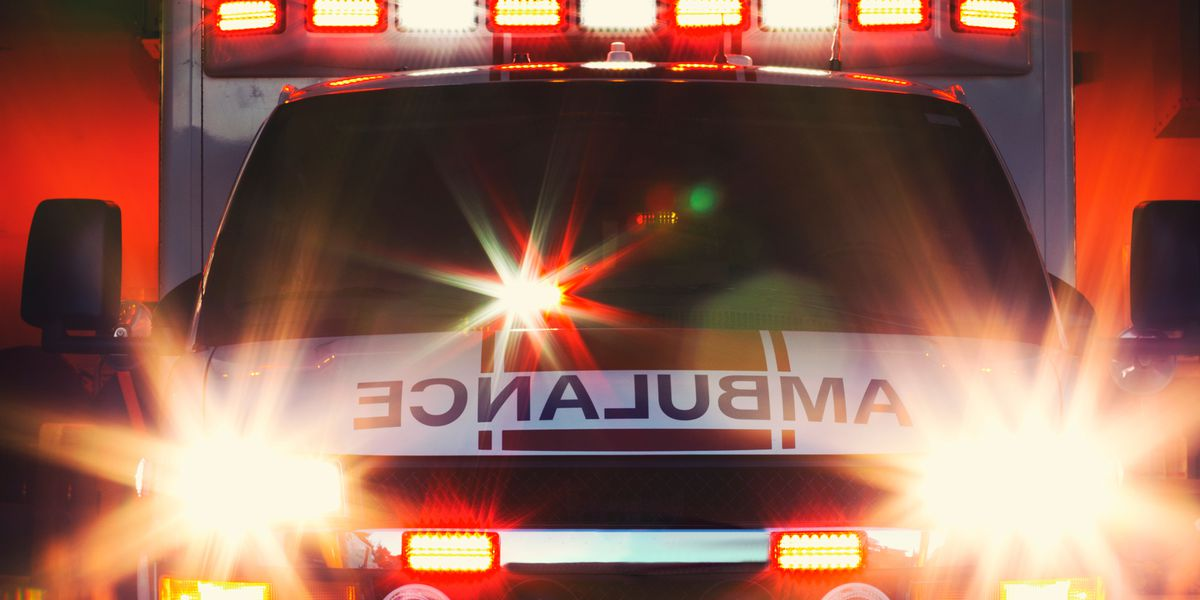 Driver hospitalized after crash in Caddo County