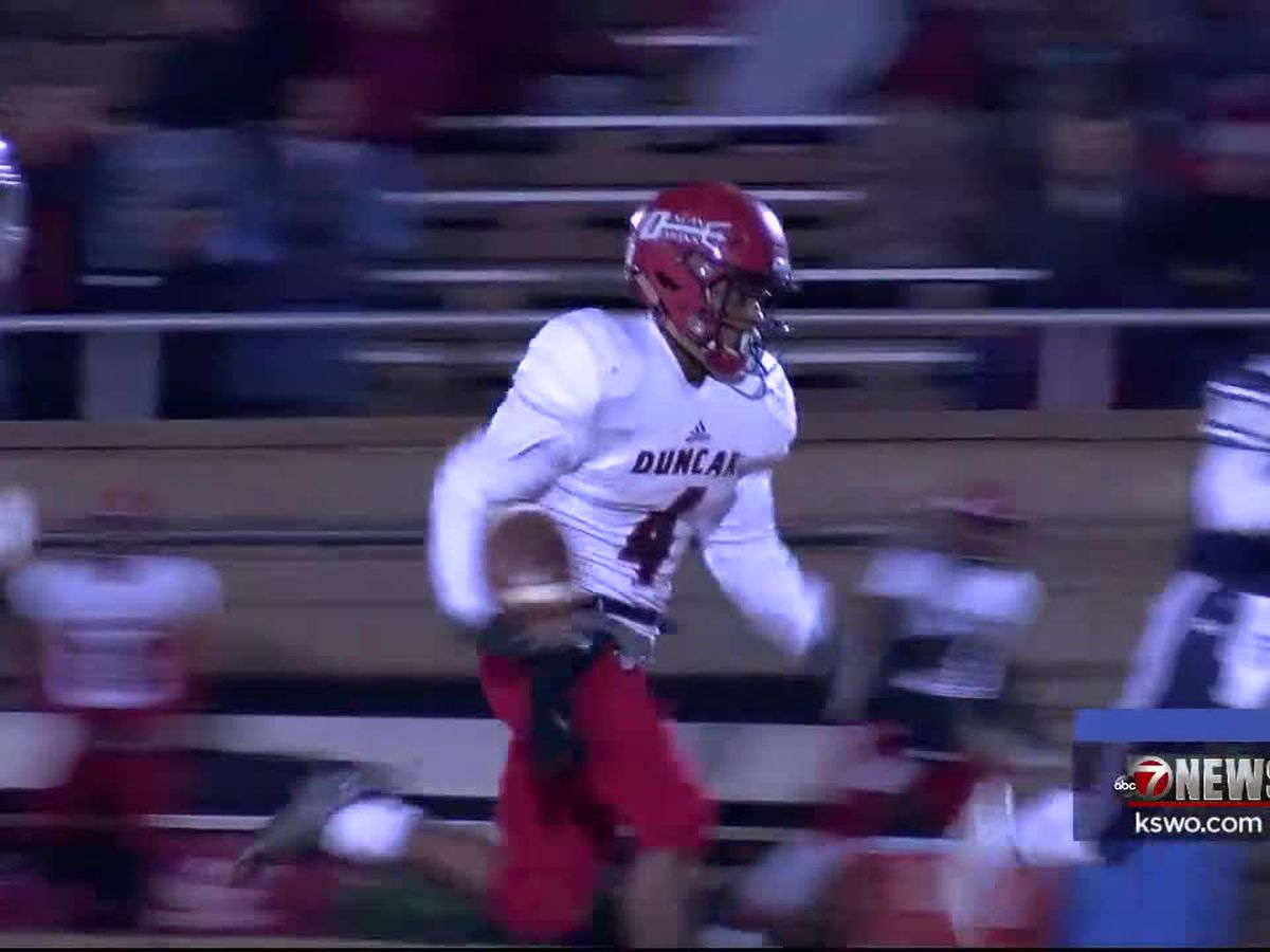 Standokes leads Duncan to playoff-clinching win over Altus